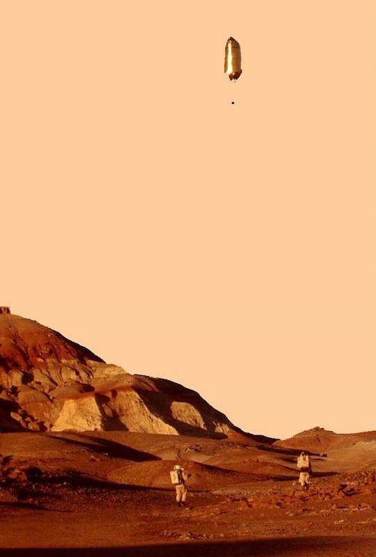Le ballon testé dans l'Utah en 2006 lors de la mission MDRS 43. En miniaturisant la charge utile, le ballon martien serait à peine plus gros. (doc. équipage MDRS 43)