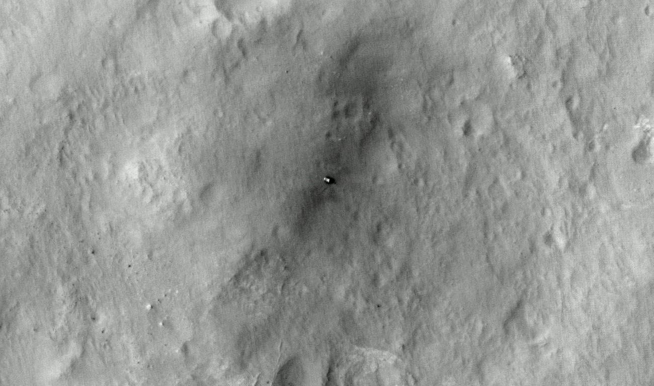 Curiosity landing zone 1