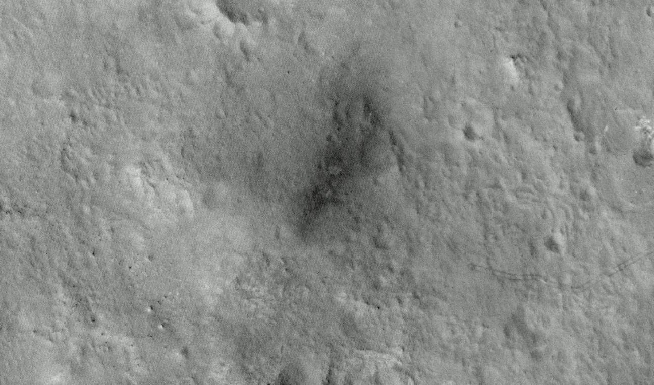 Curiosity landing zone 2