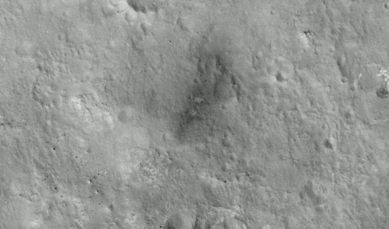 Curiosity landing zone 3