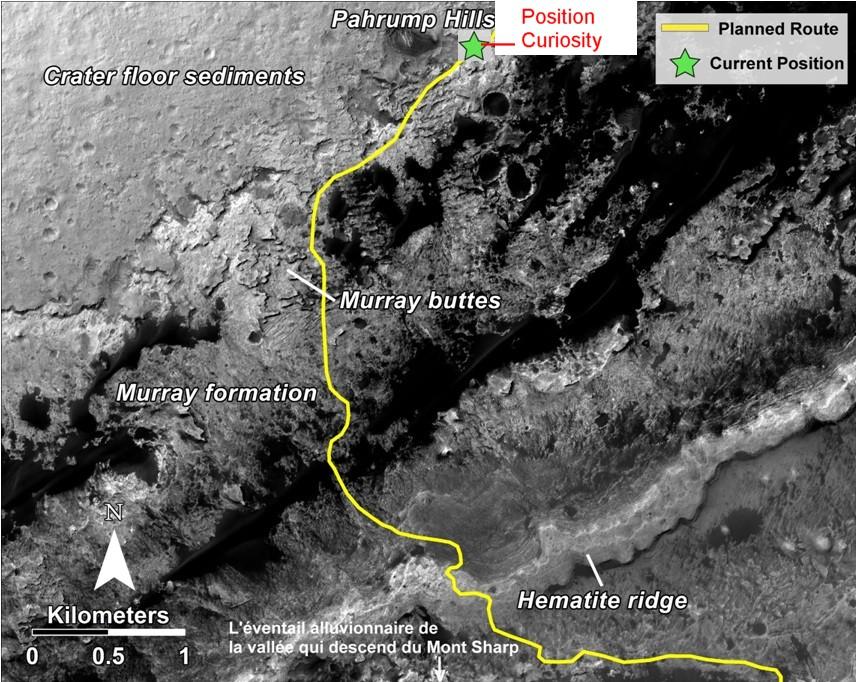Position Curiosity 17 avril