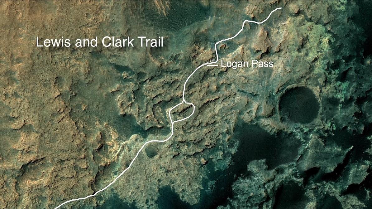 Lewis trail