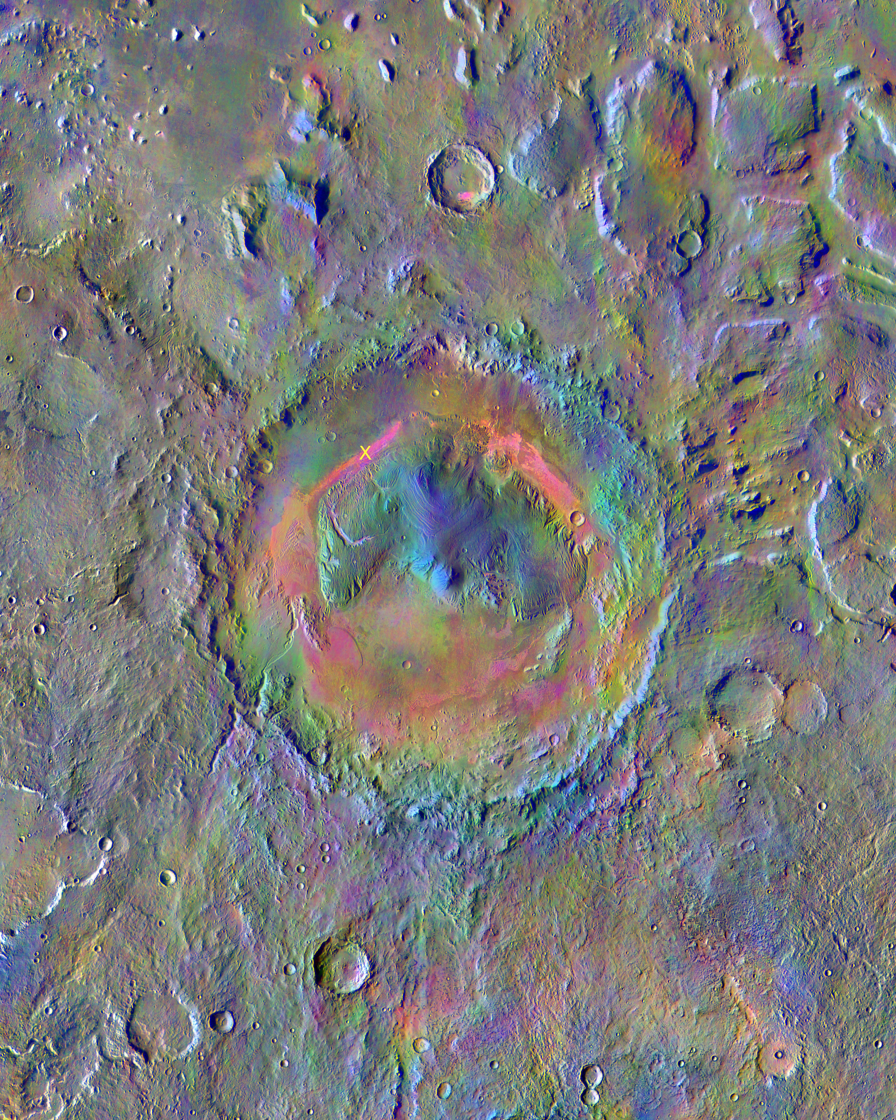 mars-odyssey-themis-gale-crater-minerals-pia196 74-full rens