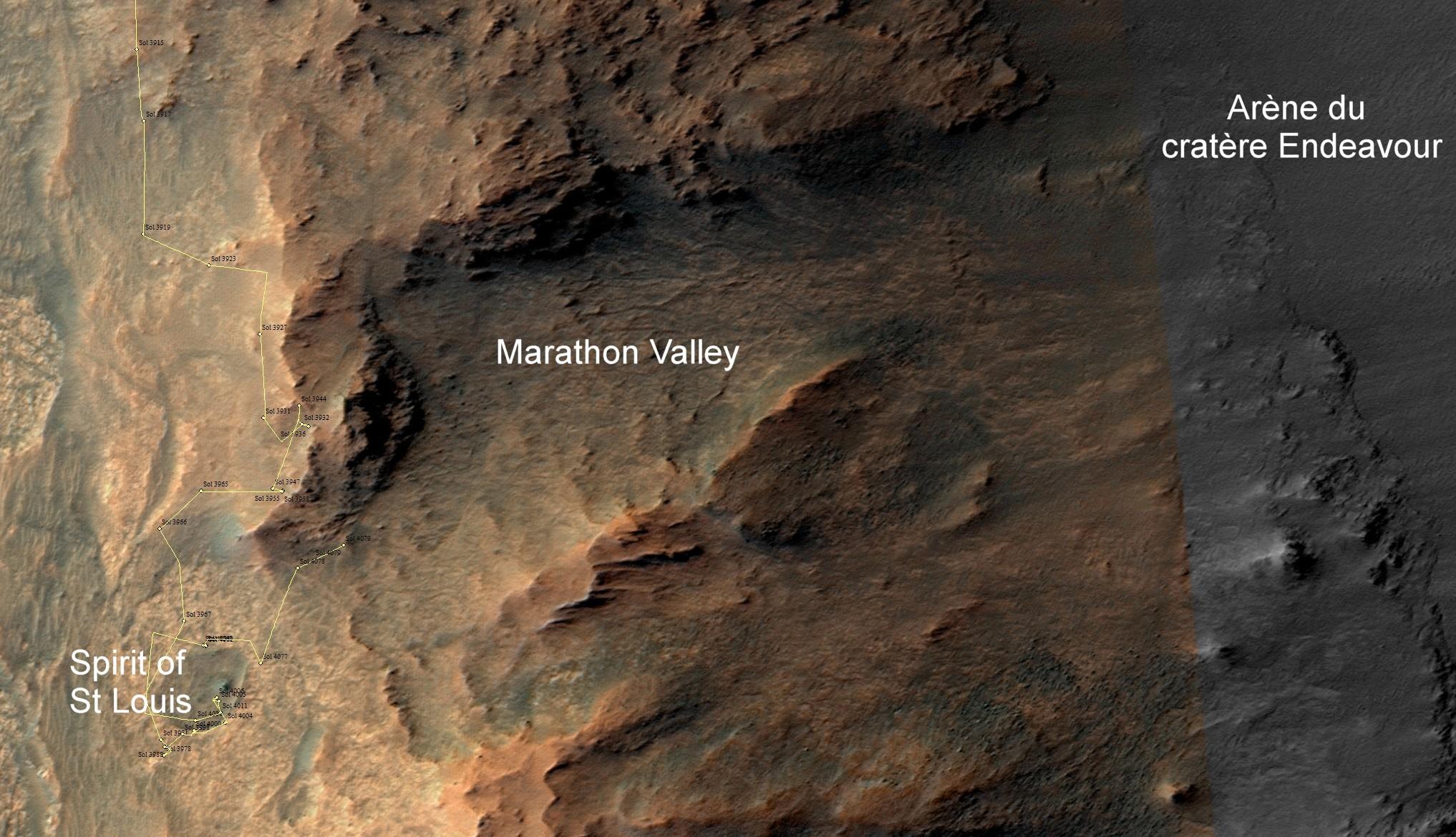 marathon valley renseigné