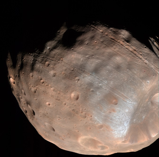 Martian satellite Phobos. (doc. NASA / JPL)