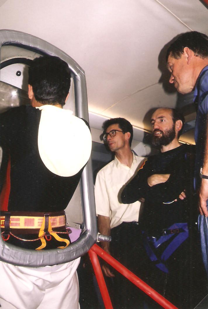 JF Clervoy entering Gandolfi juin 90 2 001