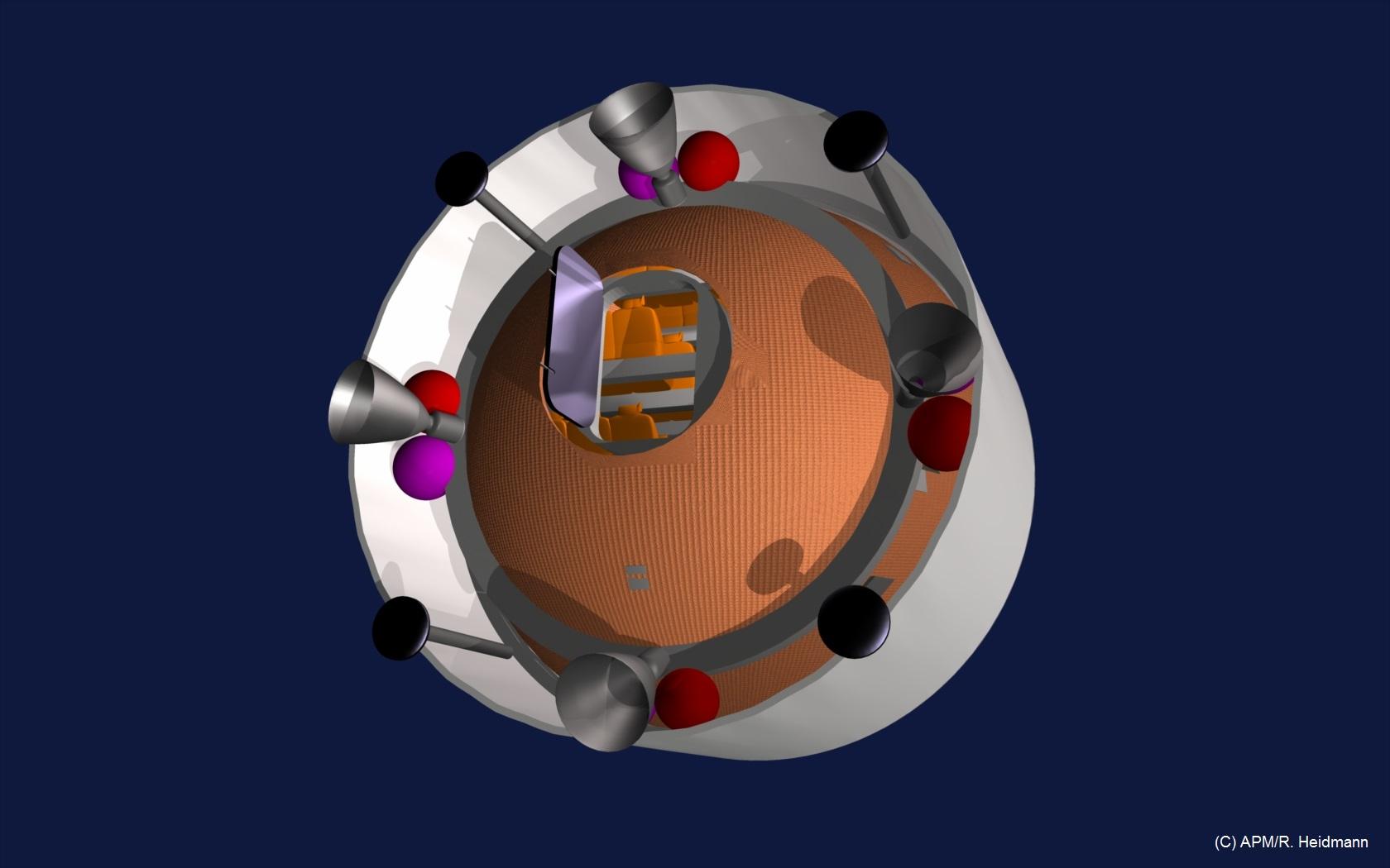 Concept de dispositif de secours en cas d'accident de lancement…