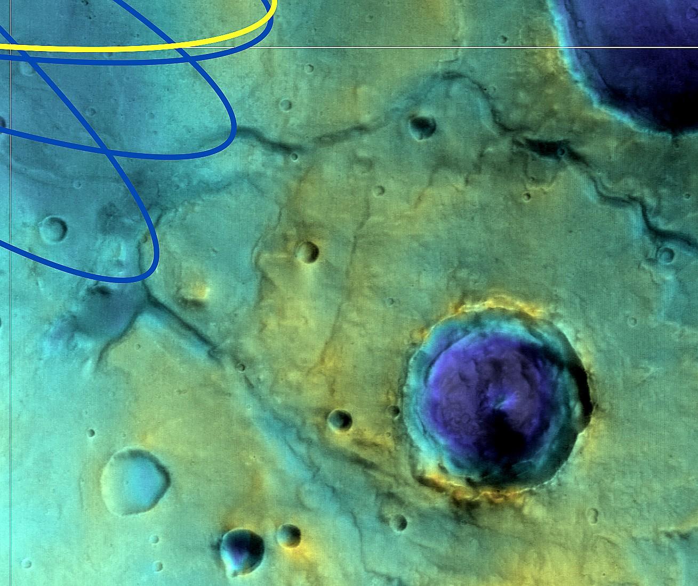 Oxia Planum détail
