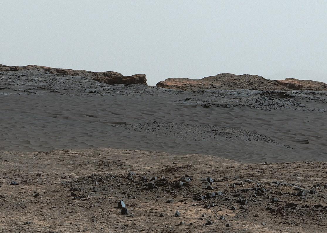 détail zone accidentée dune B