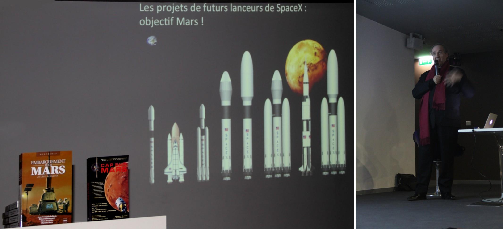 14 12 13 - 18h 25m 25s - Pavillon de l'eau conf Heidmann Dupas ambitions US Mars montage