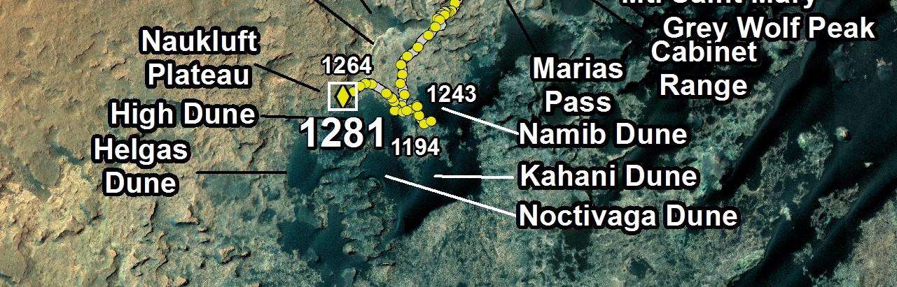 Détail carte sol 1281