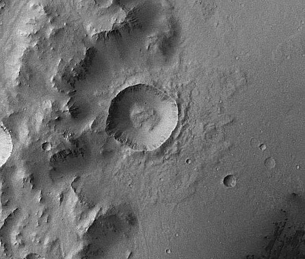 le cratère