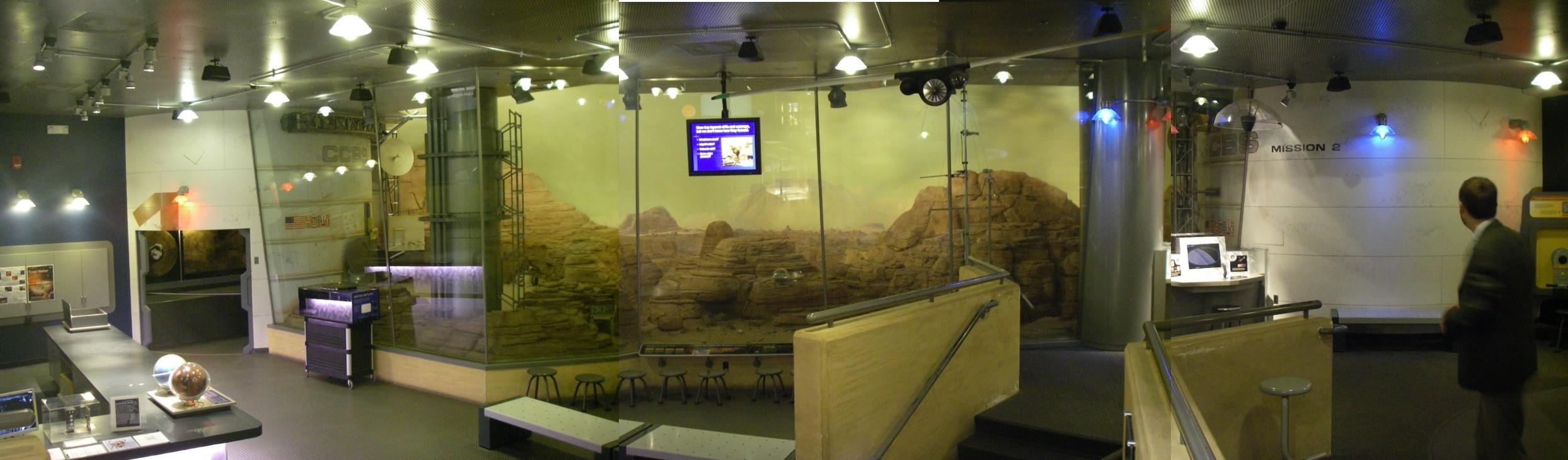 Mars au musée de Denver