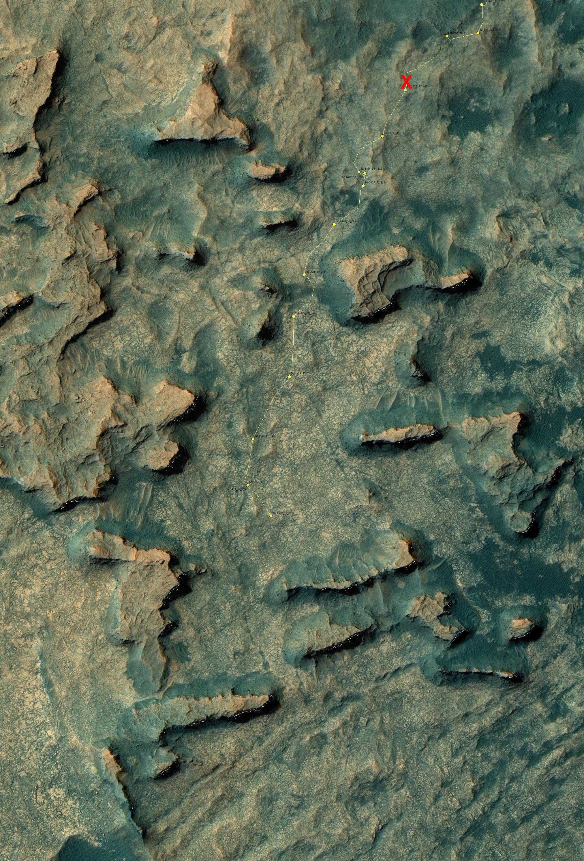 16 08 23 Curiosity_Location_Sol1439-full détail
