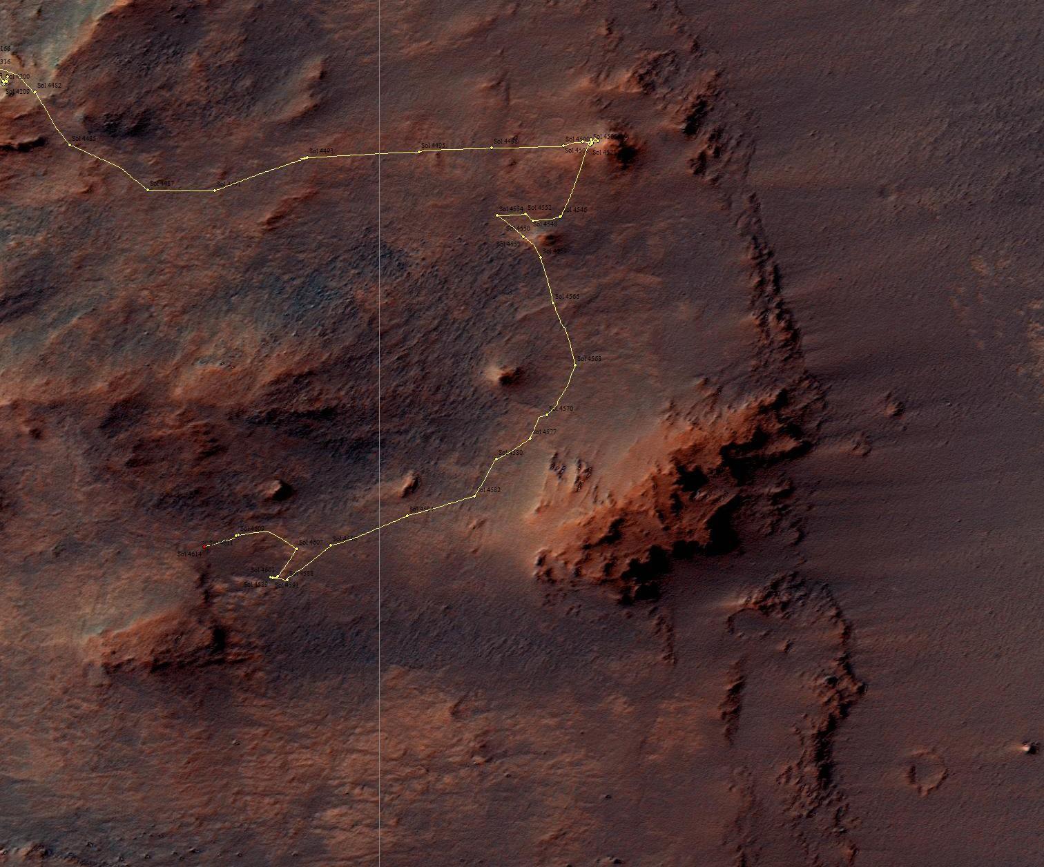 Détail position sol 4614