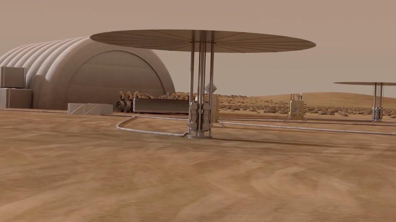 """Résultat de recherche d'images pour """"kilopower NASA"""""""