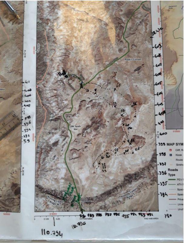 Mapping radio coverage in EVA